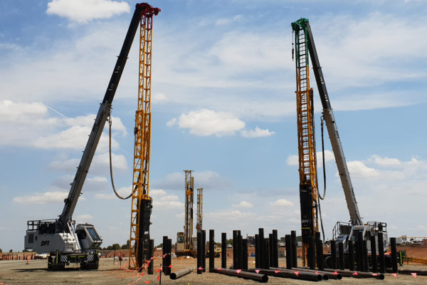 Steel Driven Piling